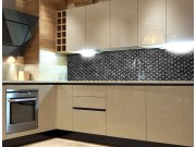 Fototapeta do kuchyně Kovová plošina KI-260-068, 260x60 cm Samolepící fototapety