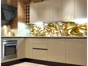 Fototapeta do kuchyně Zlatý krystal KI-260-072, 260x60 cm Samolepící fototapety