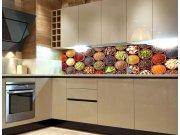 Fototapeta do kuchyně Misky s kořením KI-260-075, 260x60 cm Samolepící fototapety