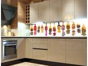 Fototapeta do kuchyně Lopatky s bylinkami KI-260-076, 260x60 cm Samolepící fototapety