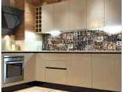 Fototapeta do kuchyně Číslice KI-260-077, 260x60 cm Samolepící fototapety