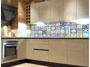 Fototapeta do kuchyně Starobylé kachličky KI-260-079, 260x60 cm Samolepící fototapety