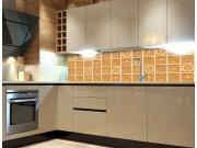 Fototapeta do kuchyně Žulové kachličky KI-260-080, 260x60 cm Samolepící fototapety