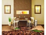 Samolepicí fototapeta na podlahu Kávová zrna FL-255-012, 255x170 cm Samolepící fototapety