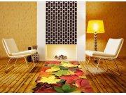 Samolepicí fototapeta na podlahu Barevné listy FL-85-004, 85x170 cm Samolepící fototapety - Na podlahu
