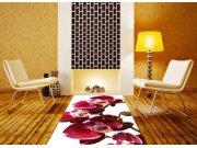 Samolepicí fototapeta na podlahu Červená orchidej FL-85-006, 85x170 cm Samolepící fototapety - Na podlahu