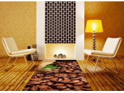 Samolepicí fototapeta na podlahu Kávová zrna FL-85-008, 85x170 cm Samolepící fototapety - Na podlahu