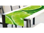 Ubrus-běhoun na stůl Limetka TS-011, 40x140 cm Ubrusy