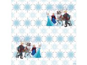 Tapeta papírová Frozen Disney WPD9632, 0,53 x 10 m Tapety Disney
