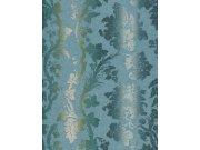 Luxusní tapety na zeď Etro ornamenty modro béžové 517835 Tapety Rasch - Tapety Etro