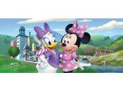 Vliesová fototapeta Minnie & Daisy FTDNH-5372 | 202x90 cm Fototapety pro děti