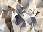 Fototapeta Abstrakce z jehlanů FTNXXL-1212 | 360x270 cm Fototapety vliesové - Vliesové fototapety AG