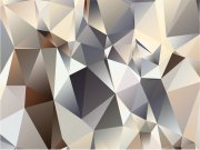 Vliesová fototapeta na zeď Abstrakce z jehlanů FTNXXL-1212 Fototapety vliesové