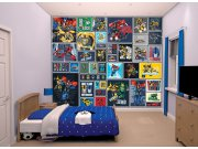 3D fototapeta Walltastic Transformers Robots 43831 | 305x244 cm Fototapety pro děti