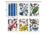 Samolepicí dekorace Walltastic Thunderbirds 43749 Dětské samolepky na zeď