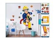 Samolepicí dekorace Walltastic Požárník Sam 44333 Dětské samolepky na zeď