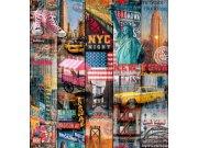 Samolepící folie Manhattan 200-3234 d-c-fix, šíře 45 cm Samolepící folie Stylové