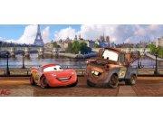 Vliesová fototapeta Cars v Paříži FTDNH-5303 | 202x90 cm Fototapety pro děti