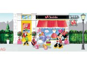 Vliesová fototapeta Minnie Mouse FTDNH-5322 | 202x90 cm Fototapety pro děti