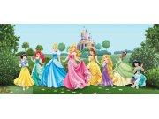 Vliesová fototapeta Princezny v zahradě FTDNH-5325 | 202x90 cm Fototapety pro děti