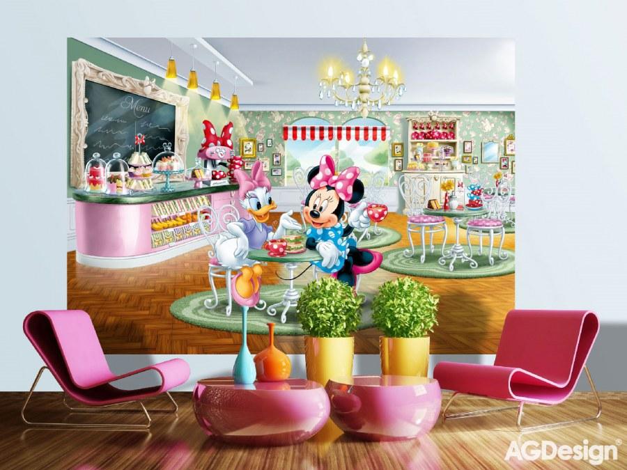 Fototapeta AG Minnie & Daisy FTDS-1926 | 255x180 cm - Fototapety pro děti