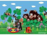 Fototapeta AG Krteček a medvědi FTM-0853 | 160x115 cm Fototapety pro děti
