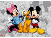 Vliesová fototapeta AG Mickey a Minnie FTDNM-5204 | 160x110 cm Fototapety pro děti