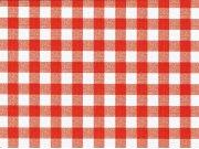 PVC ubrus Červené kostky kanafas, šíře 140 cm x návin 20 m Ubrusy