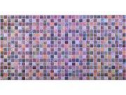 3D obkladový PVC panel mozaika hnědá Obkladové 3D panely