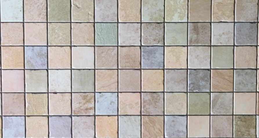 3D obkladový PVC panel mozaika barevná - Obkladové 3D panely