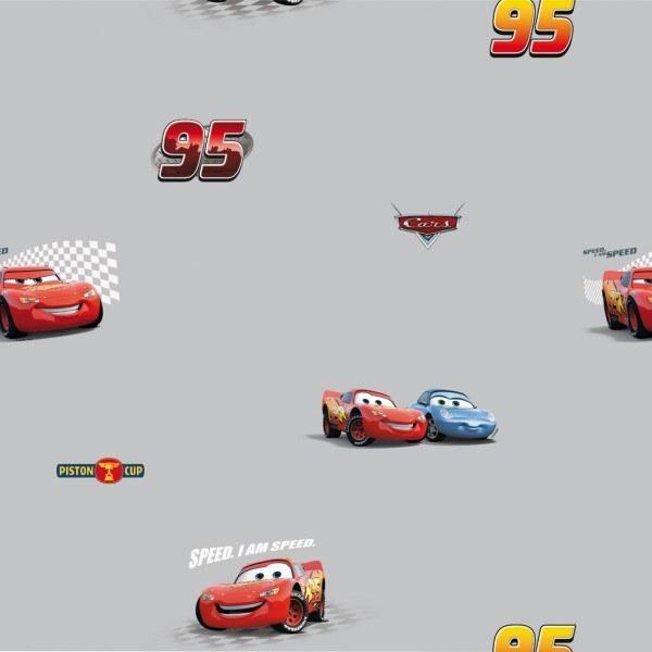Tapeta Cars šedá Disney - Tapety skladem