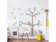 Samolepicí dekorace Walltastic Barevný strom 44647 Dětské samolepky na zeď