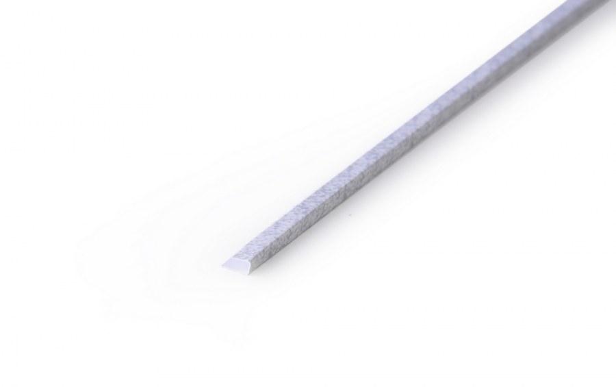 Zakončovací lišta pro 3D panely 4mm šedá   d. 90 cm - Obkladové 3D panely