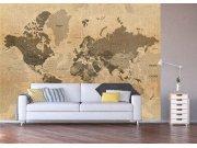 Fototapeta Historická mapa světa FTNXXL-1215 Fototapety vliesové - Vliesové fototapety AG