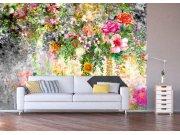 Fototapeta květinová stěna FTNXXL-1219 Fototapety vliesové