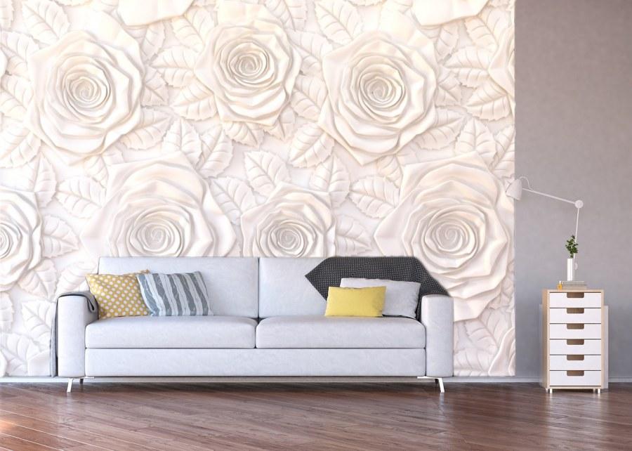 Fototapeta 3D růže FTXXL-3911 - Fototapety na zeď