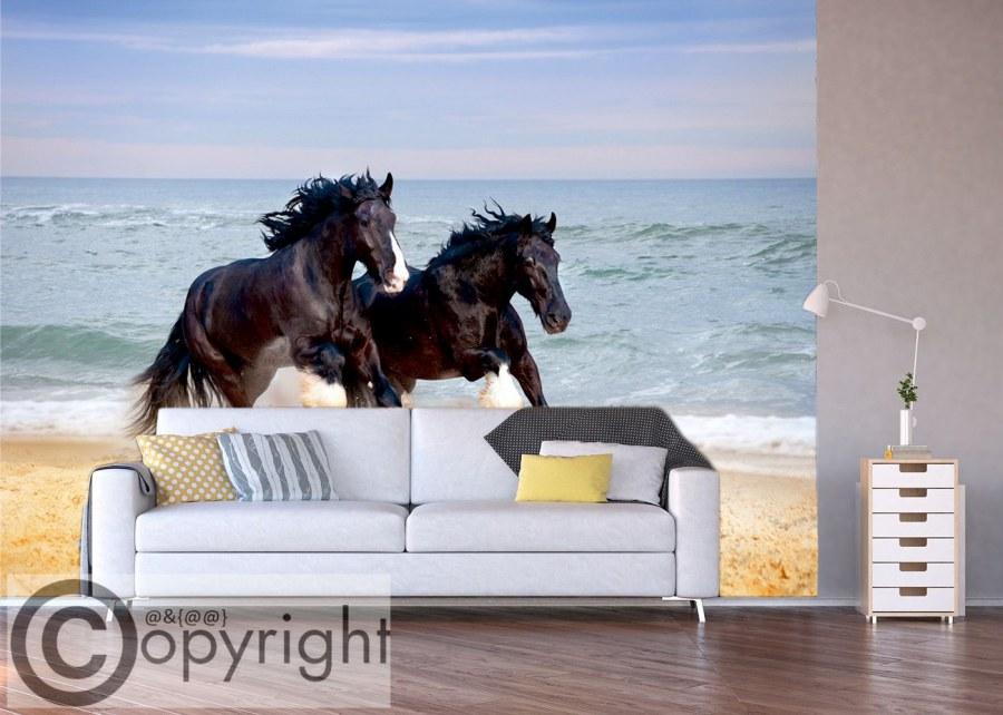 Fototapeta AG Koně na pláži FTS-1336 - Fototapety na zeď
