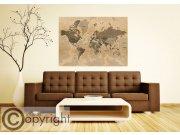 Fototapeta AG Stará mapa světa FTNM-2683 Fototapety na zeď
