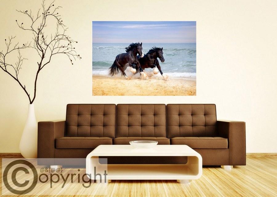 Fototapeta AG Koně u moře FTNM-2692 - Fototapety na zeď