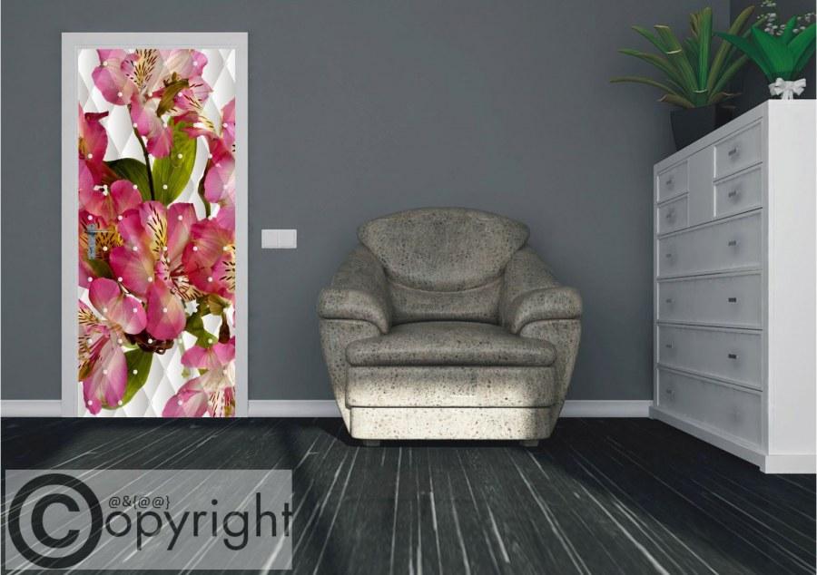Vliesová fototapeta jabloňový květ FTNV-2934   90x202 cm - Vliesové fototapety AG