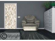 Vliesová fototapeta 3D dřevo FTNV-2936 | 90x202 cm Fototapety na dveře