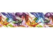 Samolepící bordura Barevný kouř WB8201 Samolepící bordury