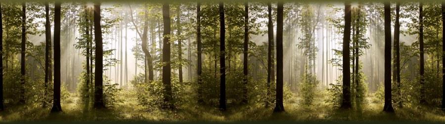 Samolepící bordura listnatý les WB8214 - Samolepící bordury