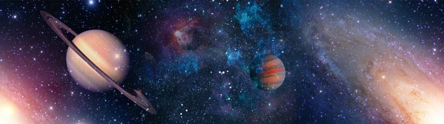 Samolepící bordura Vesmír WB8218 - Samolepící bordury