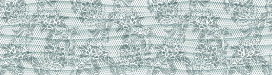 Samolepící bordura Šedé květiny WB8224 - Samolepící bordury