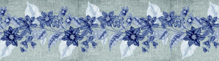 Samolepící bordura Květiny WB8227 - Samolepící bordury