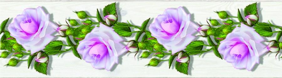Samolepící bordura Květiny WB8229 - Samolepící bordury