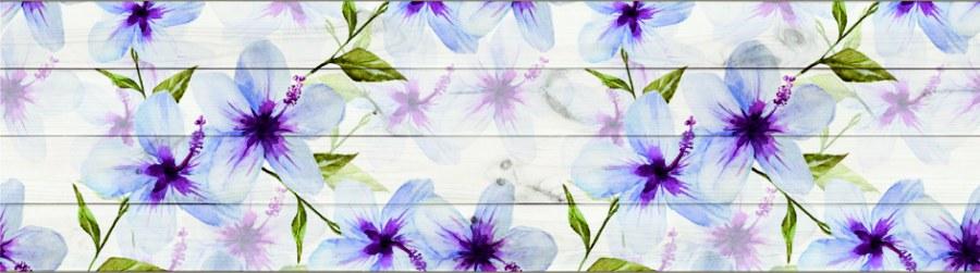 Samolepící bordura Květiny WB8235 - Samolepící bordury