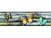 Samolepící bordura Motýli WB8238 Samolepící bordury