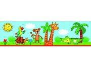 Samolepicí bordura Žirafa WBD8102 Dětské samolepicí bordury
